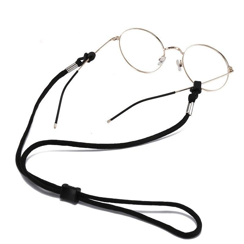 1 шт. спортивные очки шнур нескользящих унисекс шнур для очков очки цепь Для женщин мужские Разноцветные Фитнес шнурок для очков держатель д...
