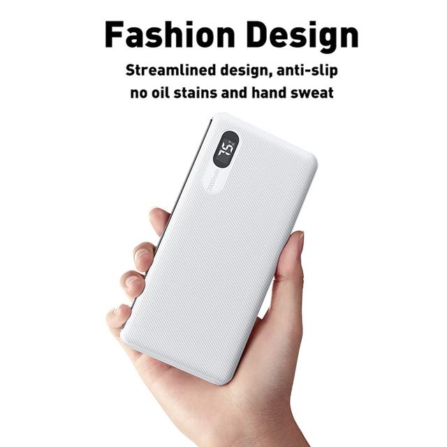 Mcdodo Power Bank 20000mAh Dual USB Fast Charge powerbank External Battery Bank For Xiaomi iPhone 11 Samsung LG Portable Charger 4