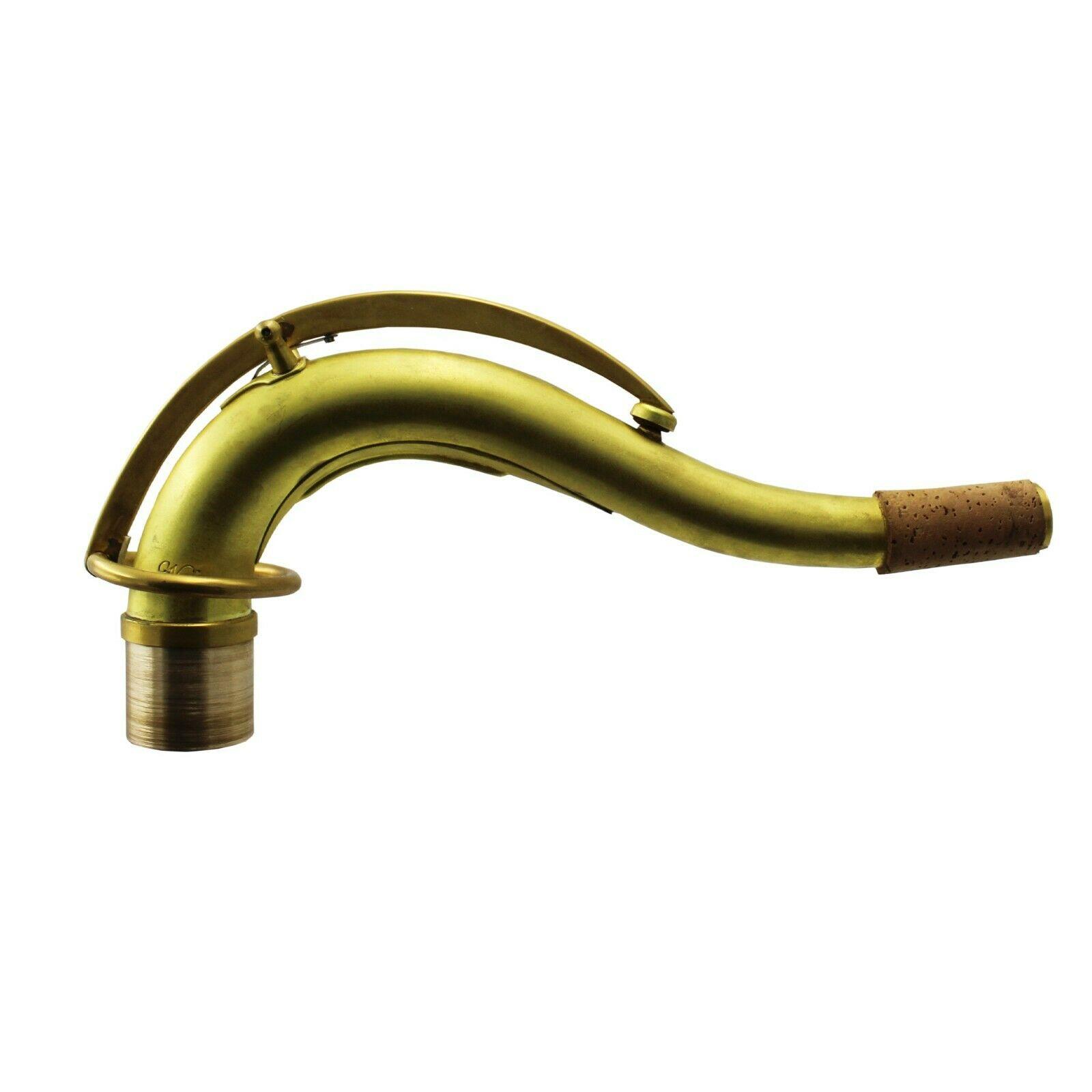 Music C10 Type Original Bare Brass Unlacquered Tenor Saxophone Neck