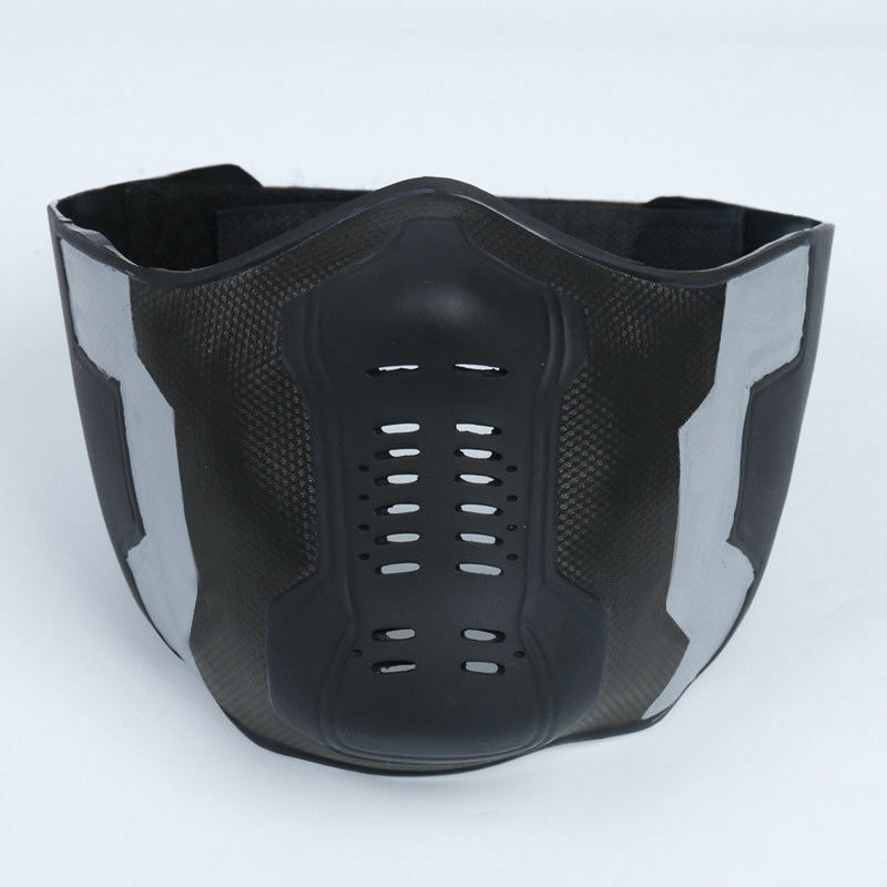 Captain America Winter Soldier Mask Goggle Cosplay Bucky Barnes PVC Mask Props Costume Gift in Boys Costume Accessories from Novelty Special Use