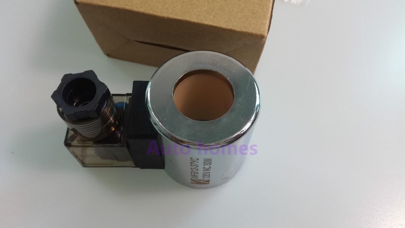Komatsu excavator accessories Komatsu PC120-6//PC60-7 solenoid valve coil DC24V