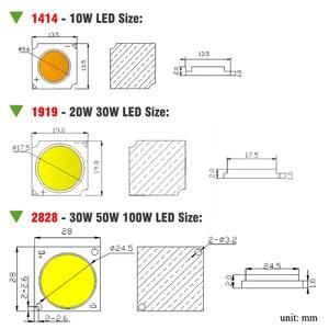 Image 3 - 10W 20W 30W 50W 100W rosną COB Chip LED pełne spektrum słońca DIY światło słoneczne dla domowa hydroponiczna roślina warzywa rosnące