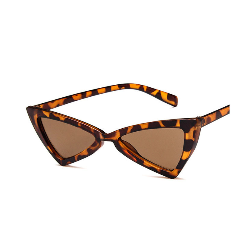2018 New Fashion Sexy Ladies Cat's Eye Sunglasses Women Brand Designer Clear Glasses Sun  For Female UV400