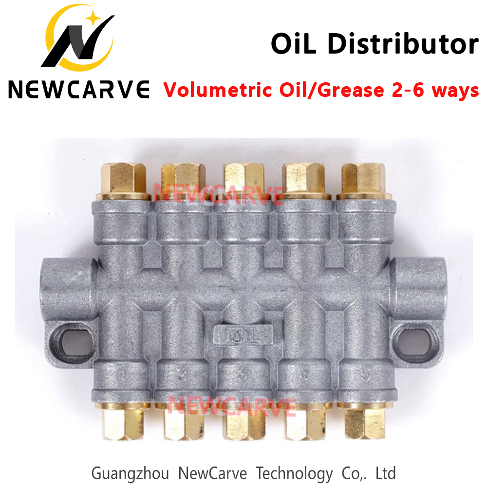 Oil Distributor Valve For CNC Engraving Machine Newcarve