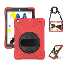 Case For apple ipad 9.7 2017 Kids Safe Shockproof Heavy Duty Silicone Hard Cover kickstand design case with Hand bracel A1822 for ipad air 1 pirate tablet case cover kids safe shockproof heavy duty silicone pc kickstand case with wrist shoulder strap