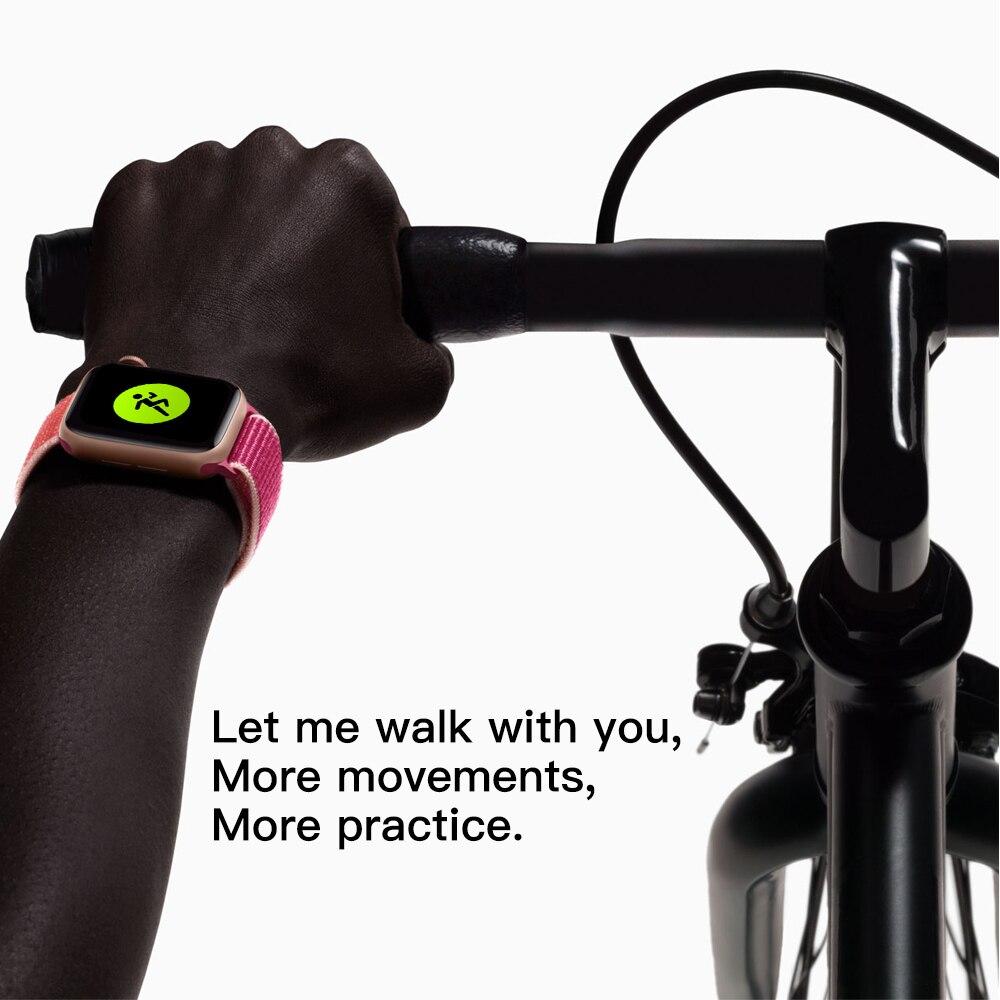 Смарт часы W55M с беспроводной зарядкой, Bluetooth, ECG, голосовое пробуждение, 44 мм диаметр, спортивный браслет для IOS телефона, бесплатная доставка - 2