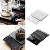 OOTDTY бытовые электронные весы для капельного кофе 3 кг/0 1 г точные кухонные весы с таймером высокое качество Прямая поставка 63HF