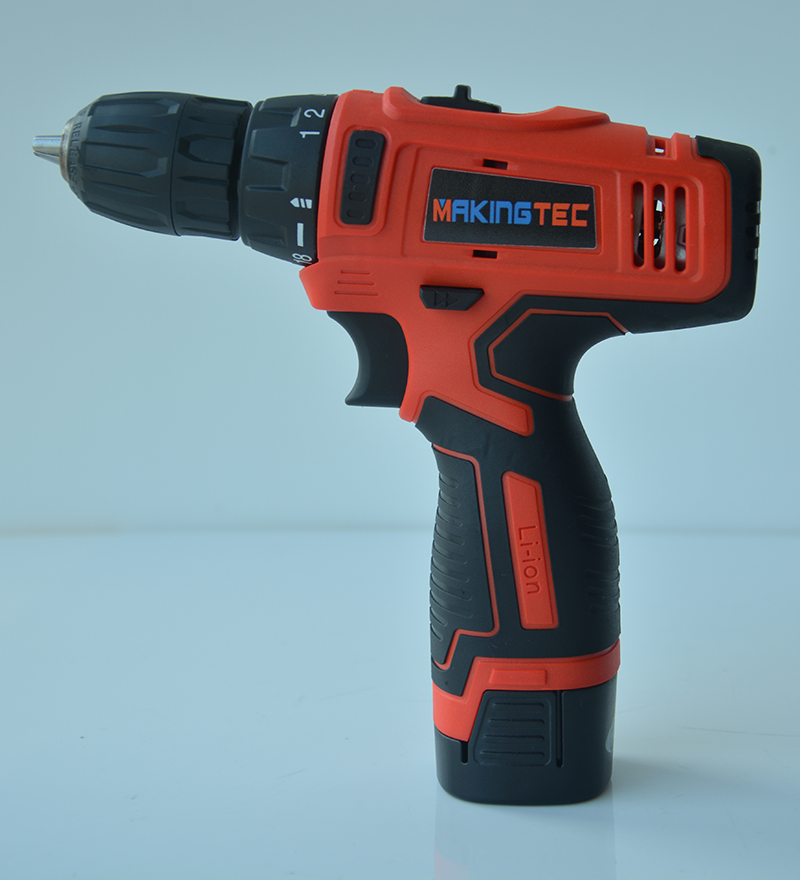MAKINGTEC Cordless Drill <font><b>16V</b></font> Electric Screwdriver 2 Speed Li-ion <font><b>Battery</b></font> Power Driver Mini Wireless Driver Electric Drill Tools image