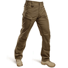 Men's Tactical Pants Military HARD LAND Lightweight Rip-Stop Operator Cargo Pants with Pockets Outdoor Sports Camping Fishing