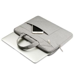 Image 5 - OGmeas 노트북 슬리브 가방 맥북 에어 13 케이스 나일론 노트북 케이스 15.6 11 14 15 인치 가방 남성 여성용 지퍼 유니섹스 배낭