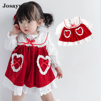 Children Clothing Dress for Girls Toddler Baby Kids Vestidos Cute Party Princess Girls Dress Newborn Autumn Kids Dresses 2pc autumn winter girls princess mini dress kids baby girls party wedding pageant long sleeve sweater dresses cute ball kids costume
