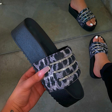 Women's Slippers Fashion Casual Slippers Women Thick Platforms Shoes Slippers Flip Flops Ladies Slides Rome Beach Sandals 2020 women s fashion slippers thick platform casual sandals women summer shoes slippers flip flops ladies slides rome beach sandals