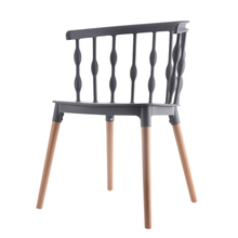 Nordic INS Windsor Chair Restaurant Dining Office Conference Computer Home Bedroom Learning Wooden