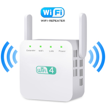 Buy WiFi Repeater WiFi Extender Wireless WiFi Booster Wi Fi Amplifier Long Range Wi Fi Repeater Wi-Fi Signal Repiter Access Point directly from merchant!
