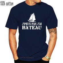 T-shirt męski J'peux pas j'ai Bateau t-shirt damski t-shirt
