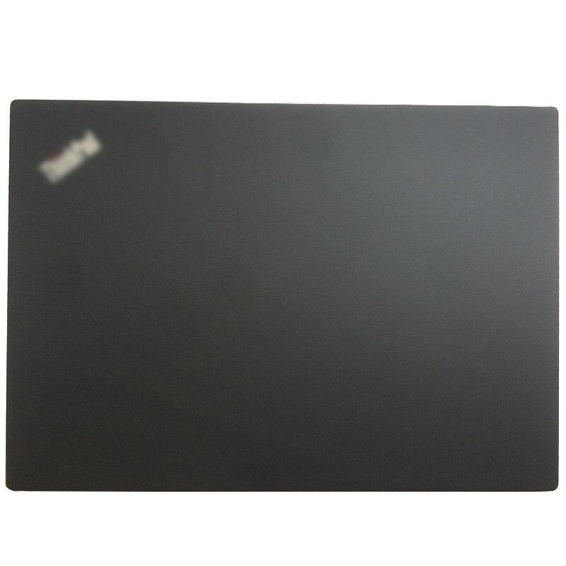 Novo para lenovo thinkpad t490s portátil lcd capa traseira/moldura dianteira/dobradiças/encosto de mãos/caso inferior preto