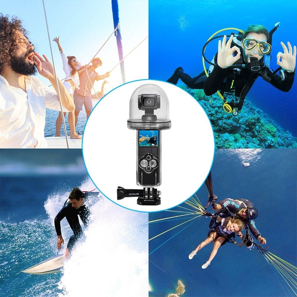 PULUZ 61m Onderwater Waterdichte Behuizing Duiken Case Cover voor DJI Osmo Pocket - 6