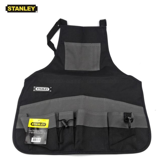 Stanley Convenient Durable Work Aprons With Tool Pockets Nylon Vest Tool Apron Belt Adjustable Garden Tools Apron For Men Women 1