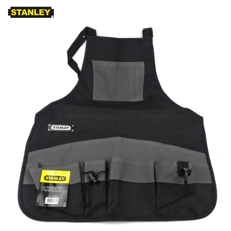 Stanley Convenient Durable Work Aprons With Tool Pockets Nylon Vest Tool Apron Belt Adjustable Garden Tools Apron For Men Women