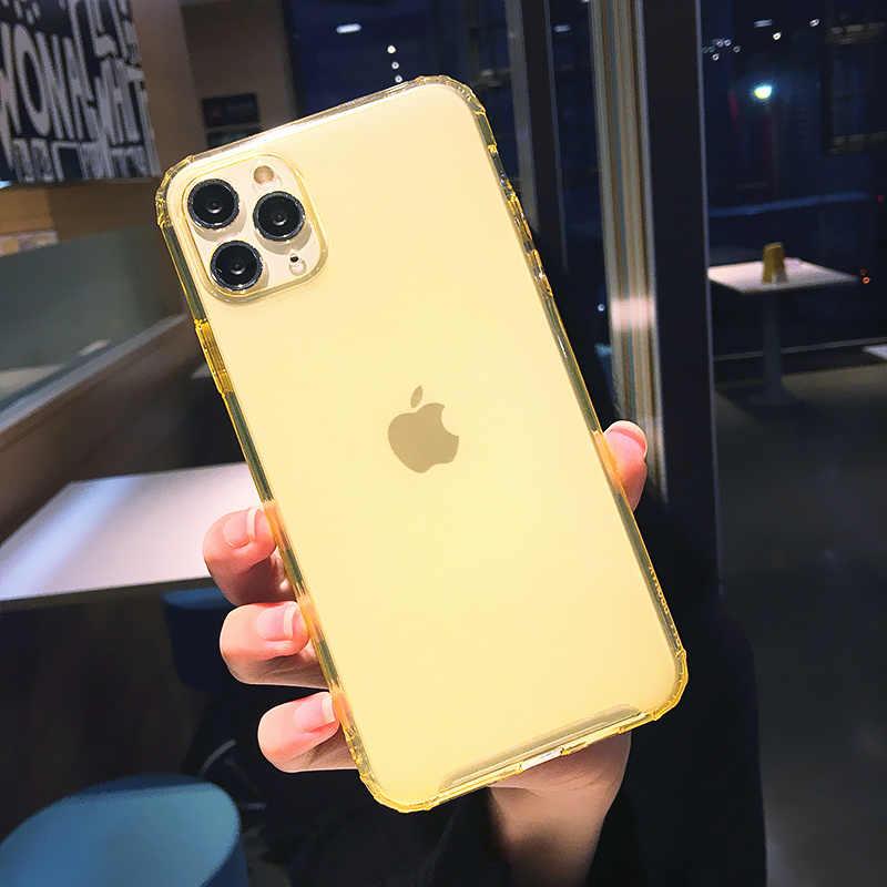 Kowkaka 透明電話ケース iphone 11 プロ max x xr xs ソフトゴージャスなカメラ保護カバー 7 8 プラスシェル