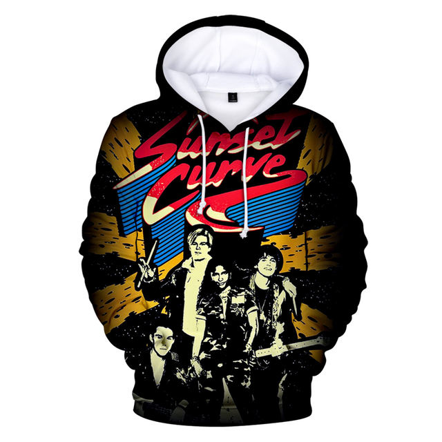 JULIE AND THE PHANTOMS THEMED 3D HOODIE (9 VARIAN)