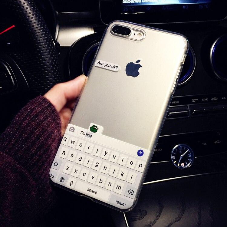 Смешной мем, вы в порядке, я прекрасный мягкий прозрачный чехол для телефона, чехол для iPhone 11 Pro 6 6S 7 7Plus 5 5S 8 8Plus X XS Max