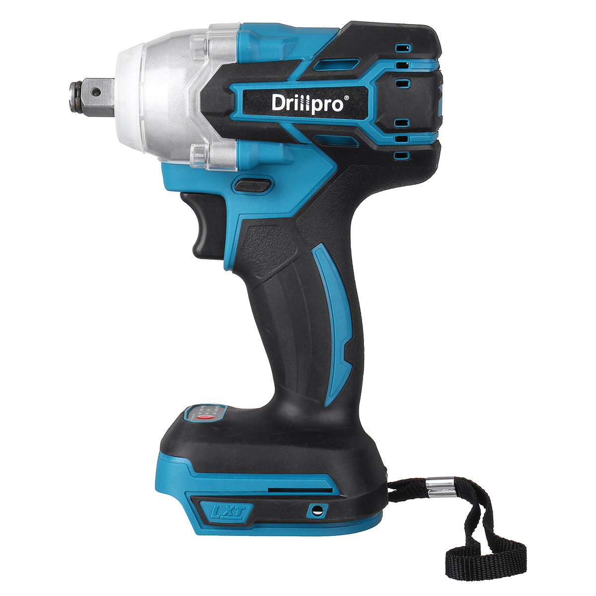 Motor 18V DTW285Z Wrench Brushless 2inch LED Square Adapted Cordless Wrench Driver Makita M Impact With 280N To 1 Electric Light