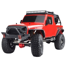 Ex86100 Pro 1 /10 2.4G 4Wd Rc Car Electric Climbing Crawler Outdoor Toys Kit-Red