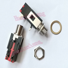 20PCS/Lot 6.35mm Stereo Audio Microphone Female Jack/Socket Connector 3P/3Pin PCB Panel