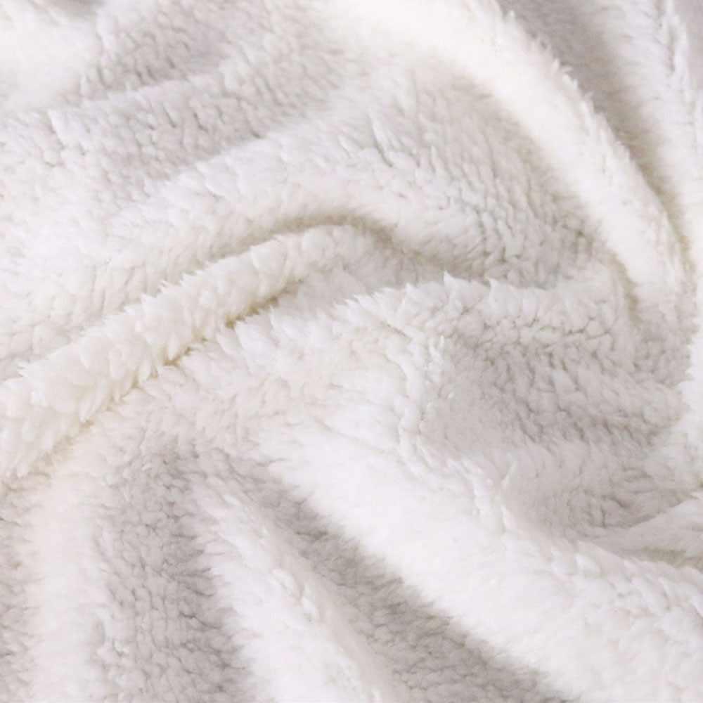 Мультфильм плед Кошмар перед Рождеством мягкий шерпа одеяло Джек Санта зима простыня колено одеяло офисное одеяло для короткого сна