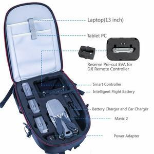 Image 3 - Smatree Ba Lô Cho DJI Mavic 2 Pro/Zoom Với Bộ Điều Khiển Từ Xa/Cho DJI OSMO Bỏ Túi Với Phần Mở Rộng thanh