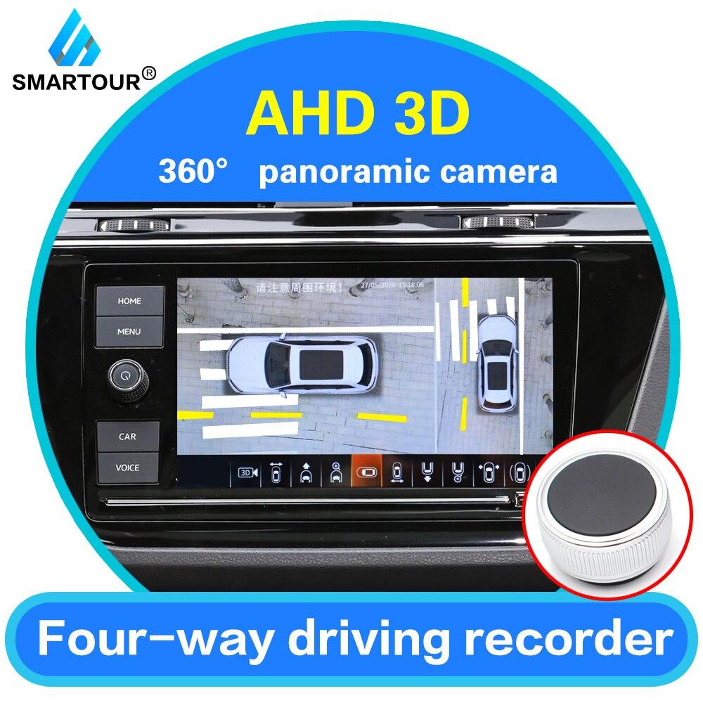 Smartour Auto panoramique caméra De Recul 360 degrés système De stationnement caméra De voiture tout rond Vision nocturne caméra De Recul