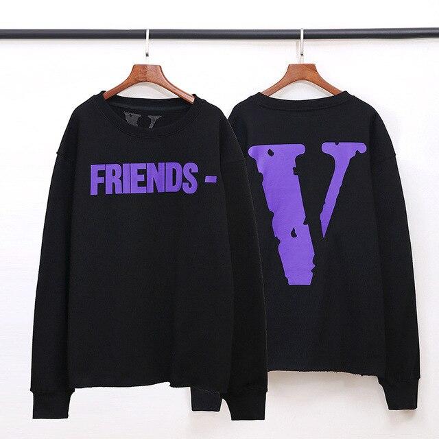 VLONE Friends Cotton Sweatshirts Hoodies 1