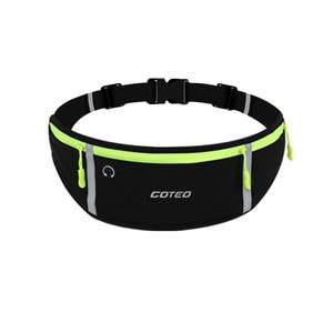 "Image 5 - 7"" Running Marathon Waist Bag Sports Climbing Hiking Racing Gym Fitness Belt Water Bottle Hip Waist Pack for iphone 11 pro max"