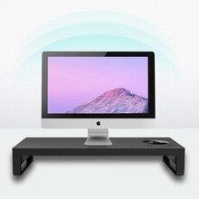 Pc-Stand Riser Computer-Screen Desktop Multi-Function Laptop Aluminum-Shelf with USB