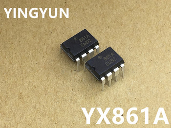 10pcs/lot   YX861A  861A  DIP-8    New   original 10pcs sd6861 dip