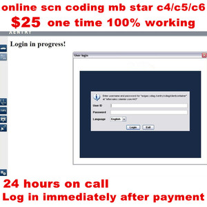 Image 1 - 2020 Best One Time Server LOG ออนไลน์ SCN Coding สำหรับเครื่องมือวินิจฉัย MB Star C4 SD C5 SD เชื่อมต่อขนาดกะทัดรัด C6 สำหรับ MB รถยนต์