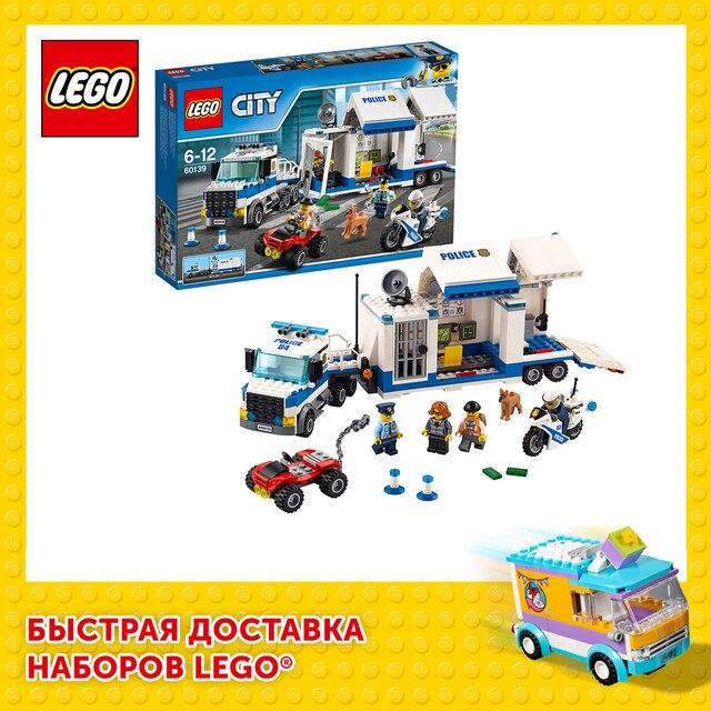 Конструктор LEGO City Police Мобильный командный центр 1