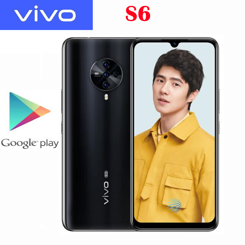 Vivo S6 смартфон с 5,5-дюймовым дисплеем, ОЗУ 8 Гб, ПЗУ 980 ГБ, 6,44 мАч, Android 10