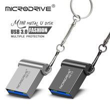 Mini clé USB 3.0 en métal, support à mémoire de 16GB 32GB 32GB 64GB 128GB, ultra rapide, nouveau modèle