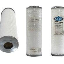 Серебряный фильтр для воды Sentinel 800 кв. Футов очищает для чистой воды избавление от запахов и химический вкус патент спа фильтр