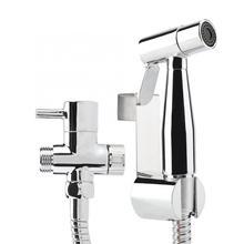 Самоочищающийся Твердый латунный настенный Душ Туалет Ванная комната Ручной Биде подгузник спрей воды сепаратор комплект Товары для ванной комнаты