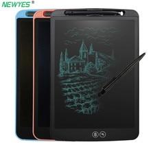 Newyes 12 дюймов частичное стирание ЖК-планшет функция блокировки офисные принадлежности рисунок головоломка граффити образование подарок для детей