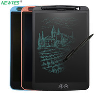Newyes 12 Inch Partial Erase LCD Writing Tablet Lock Function Office Supplies Drawing Board Puzzle Graffiti Education Kids Gift