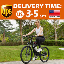 Bicicletta da 26 pollici per bicicletta elettrica da montagna da 26 pollici con cambio a 21 velocità EU disponibile bici da neve con doppio freno a disco In lega di alluminio