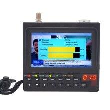 KPT 269H DVB S2 SatelliteFinder completa HD Digital satélite receptor de TV buscador medidor de MPEG 4 HD DVB S buscador de satélite