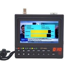 Image 1 - KPT 269H DVB S2 Satellitefinder Full HD Truyền Hình Kỹ Thuật Số Vệ Tinh Thu Tìm Đo MPEG 4 HD DVB S Vệ Tinh Tìm