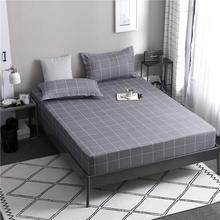 68 1pcs 100% polyester printing bed mattress set with four corners and elastic band sheets