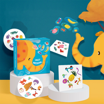 цена Baby Cognition Puzzle Toys Toddler Cards Matching Board Games child Cognitive Pair Puzzle Gift toys for children Boy Toys Gift онлайн в 2017 году