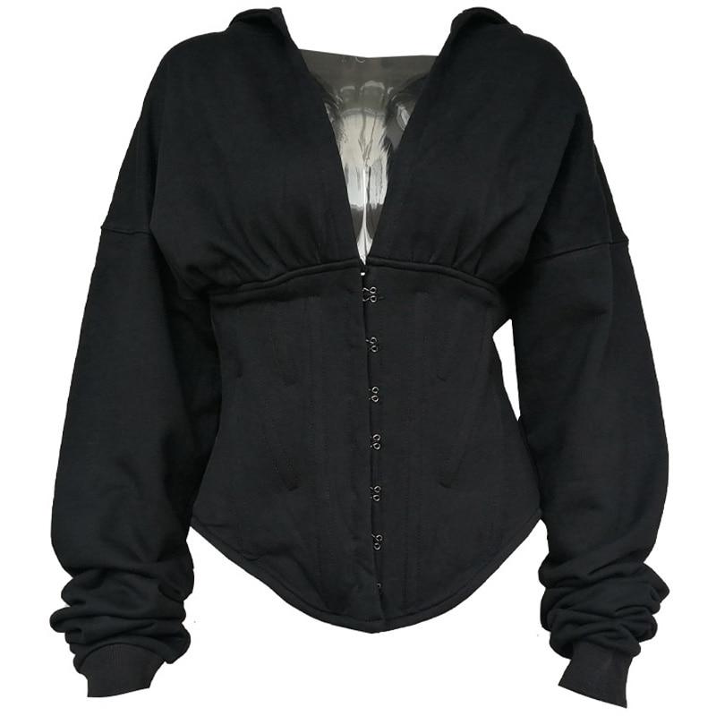 Women Hoodies Sweatshirt Autumn Winter Casual Hoodie Sweat Pullover Tracksuit Streetwear High Street